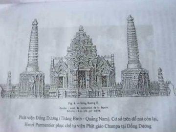 Phật-Viện-Đồng-Dương-Thắng-Bình-Quảng-Nam.-Henri-Parmentier-phục-chế-tu-viện-Phật-Giáo-Champa-tại-làng-Đồng-Dương