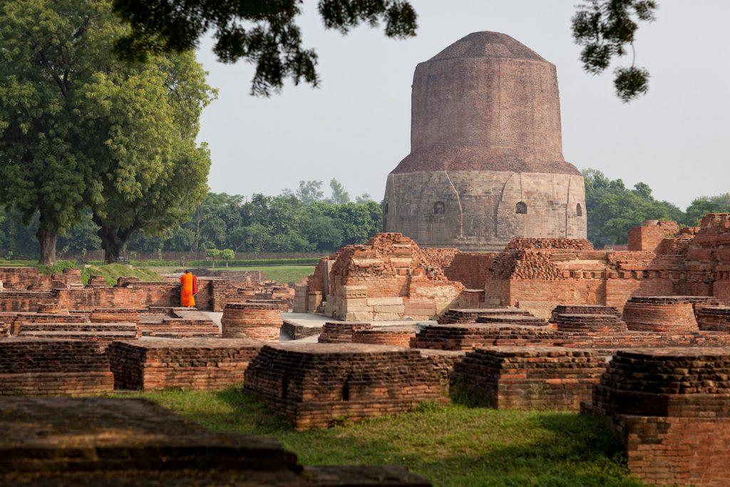 India-Travel-Varanasi-Saranath-Buddhism-Buddha-Temple