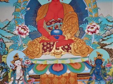 Buddha-Amitabha-Thangka