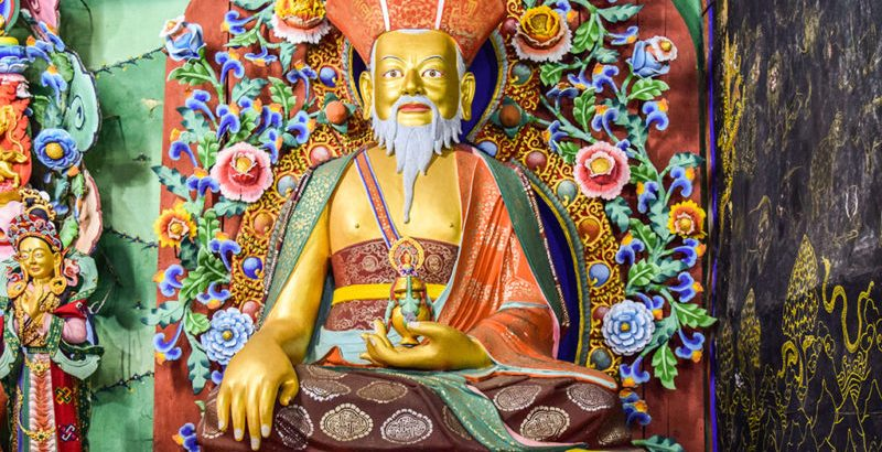 The Zhabdrung Ngawang Namgyel hailed from Tibet in 1616 and unified the then divided Bhutan.