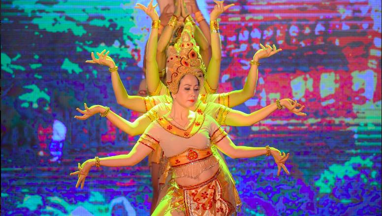 Điệu múa Apsara là văn hóa đặc trưng của người Chăm Pa